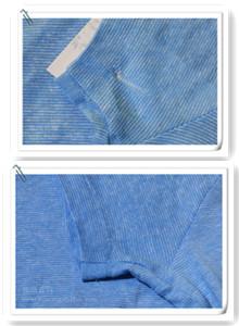 男士细针间色T恤修补案例图片